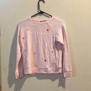 A peace love world sweatshirt